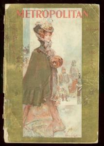 METROPOLITAN MAGAZINE DEC 1889-CHRISTMAS ISSUE-PULP G-
