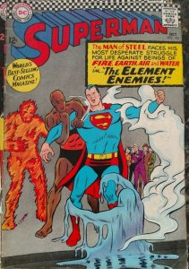 Superman #190 (DC,1966) Condition FN