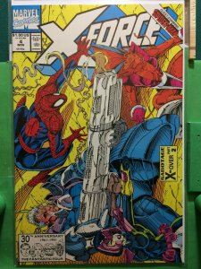 X-Force #4 Sabotage X-Over part 2