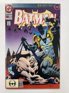 Batman 500   Azrael Stands In For Batman Against Bane. Azrael Defeats Bane