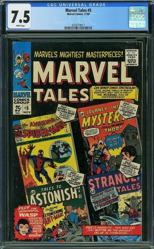 Marvel Tales #5 (Marvel, 1966) CGC 7.5