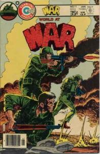 War #11 FN; Charlton | save on shipping - details inside