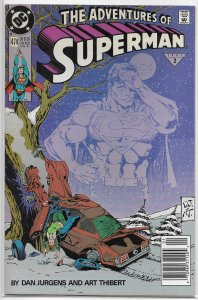 Adventures of Superman   vol. 1   #474 FN