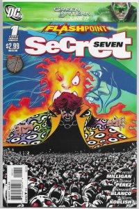 Flashpoint  : Secret Seven   #1 of 3 VF