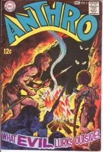 ANTHRO (1968) 3 VG-F  Nov.-Dec. 1968 COMICS BOOK