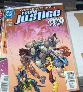 Young Justice #45 (Jul 2002, DC) pt 5 forever more kid flash+superboy