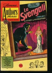 FAMOUS AUTHORS ILLUSTRATED #12-LA SVENGALI-HYNOTISM VG