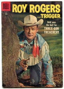 Roy Rogers and Trigger #113 1957- Dell Western FN-