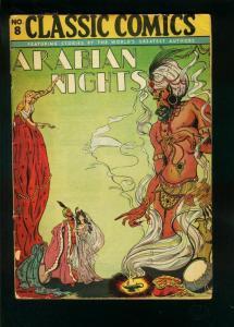 CLASSIC COMICS #8 HRN 28 EDITION 4A -ARABIAN NIGHTS-good/very good G/VG