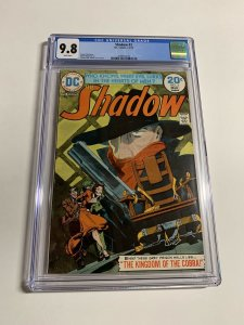 The Shadow 3 Cgc 9.8 White Pages Dc Comics Bronze Age 025