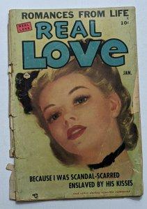 Real Love #35 (Jan 1951, Ace) Fair/Good 1.5