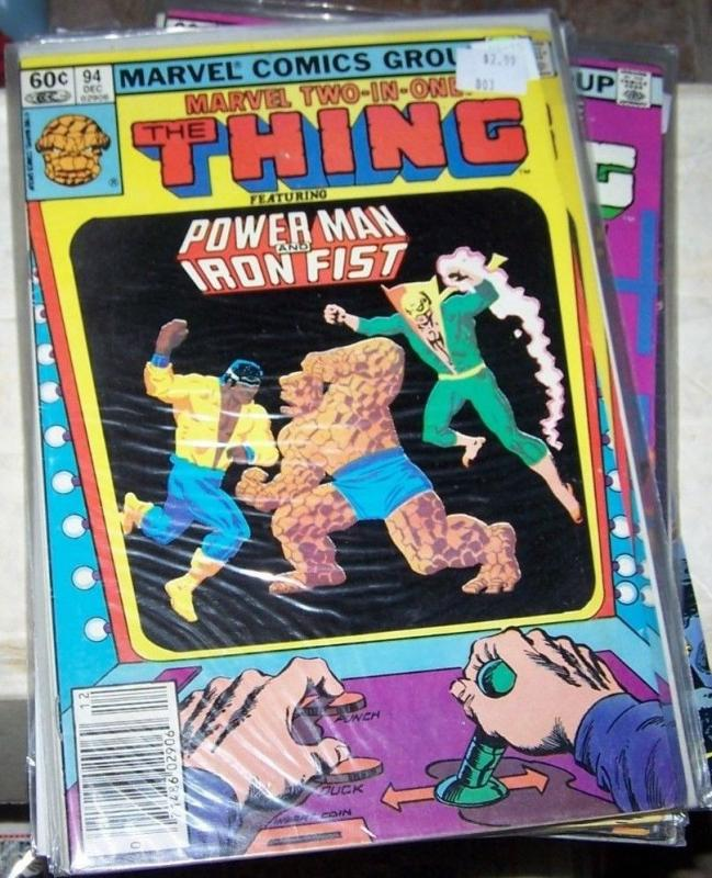 Marvel Two-In-One #94 (Dec 1982, Marvel) the thing + power man and iron fist