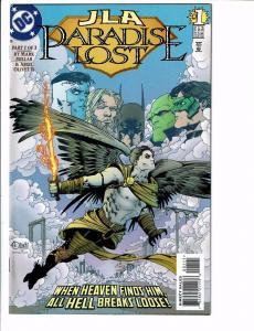 JLA Paradise Lost Complete DC Comics Ltd Ser # 1 2 3 Batman Superman Flash J107