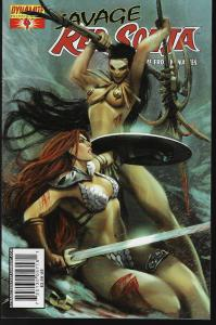 Red Sonja Queen of the Frozen Wastes #4 (Dynamite) - Stjepan Sejic Cover