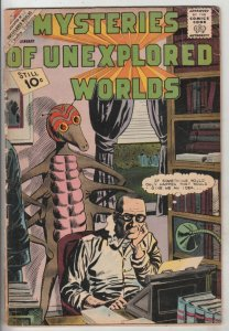 Mysteries of Unexplored Worlds #28 (Jan-62) FR/GD Low-Grade