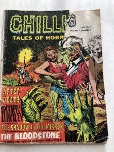 Chilling tales of horror 1, reader