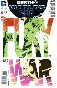 Earth 2: World's End #12, NM- (Stock photo)
