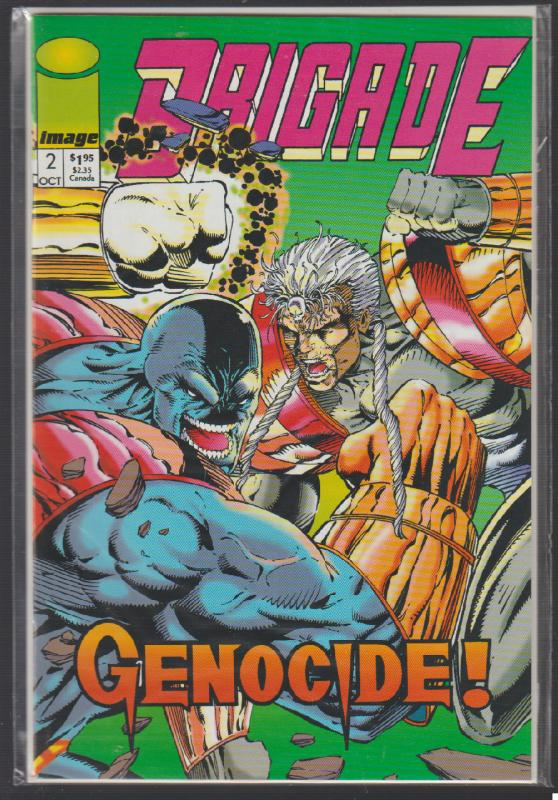 BRIGADE #2 - GENOCIDE! - IMAGE COMICS - N/M