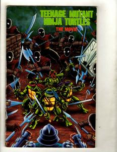 Teenage Mutant Ninja Turtles The Movie Archie Comic Book FN/VF Leonardo SM8