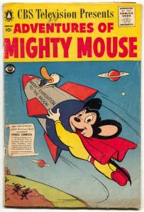 Adventures Of Mighty Mouse #139 1957- Rocket cover G/VG