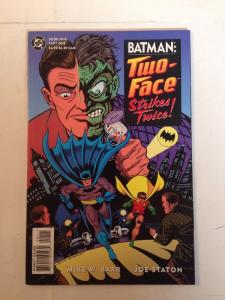 Batman Two-face Strikes Twice Book One Part One Near Mint