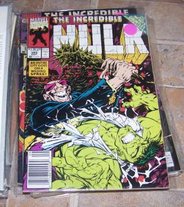 Incredible Hulk  # 385  1991 marvel   THANOS INFINITY GAUNTLET CROSSOVER **