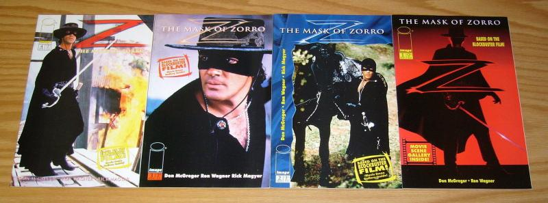 Mask of Zorro #1-4 VF/NM complete series ANTONIO BANDERAS all photo variants set