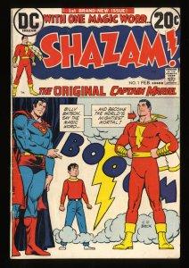 Shazam! #1 VG 4.0
