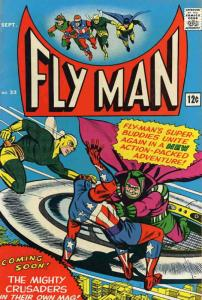 Fly Man #33 VG; Radio | low grade comic - save on shipping - details inside