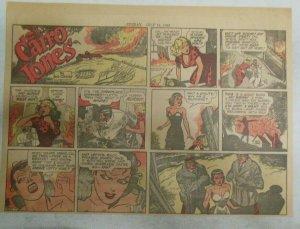 Miss Cairo Jones Sunday by Bob Oksner from 7/14/1946 Size: 11 x 15 inches GGA