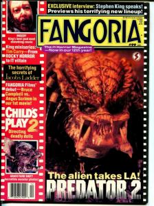 Fangoria 12/1990-Starlog-Stephen King Special Issue-zombies-Dr Cyclops-VF