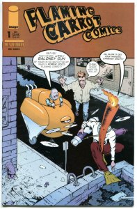 FLAMING CARROT #1 2 3 4, NM+, Bob Burden, 2004, more in store, 1-4 set