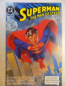SUPERMAN MAN OF STEEL # 1