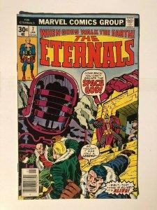 Eternals #4  - 1st App. of Jemiah & Tefral