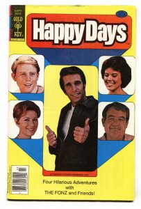 HAPPY DAYS #1 1st  ISSUE HENRY WINKLER-RON HOWARD COMIC BOOK -FN/VF