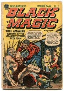 Black Magic #20 1953- Simon & Kirby- Pre code horror G