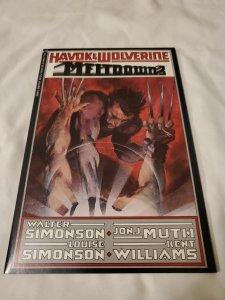Havok and Wolverine Meltdown 3 Near Mint-