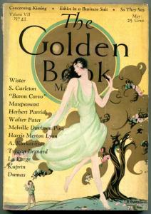 Golden Book Pulp May 1928- Dumas- Maupassant- Herbert Parrish