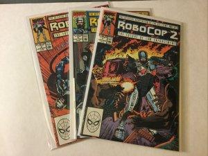 Robocop 2 1-3 1 2 3 Movie Adaptation Nm Near Mint Marvel Comics