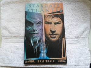 2006 WRAITHFALL STAR GATE ATLANTIS # 1 ( DRAKE PAINTED )