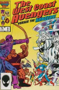 West Coast Avengers #8 VF/NM; Marvel | save on shipping - details inside