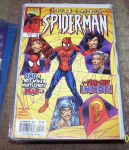 PETER PARKER SPIDER-MAN COMIC # 5 MARVEL 1999 AUNT MAY MARY JANE