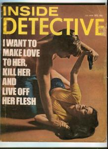 INSIDE DETECTIVE-DEC/1972-LOVE HER-KILL HER-EAT HER-HUNTED-SLAUGHTER IN PAR G