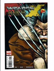 4 Marvel Comics #1 Weapon X Days Future Wolverine Saga Giant-Size Global Jeo TW9