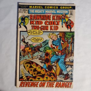 Mighty Marvel Western #19 Fair