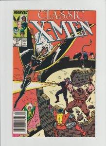 Classic X-Men #11 (1987) NM- 9.2 Reprint of Uncanny X-Men 103, Newsstand!!