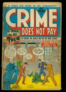 Crime Does Not Pay #68 Fair 1.0
