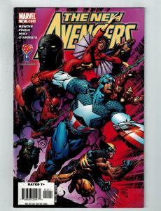 New Avengers # 12 VF Marvel Comic Book Captain America Thor Hulk Iron Man S75