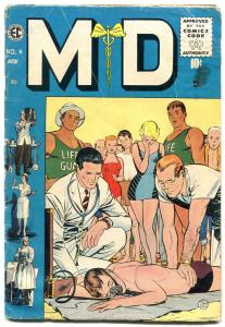 MD #4 1955-EC Comics- Rare medical comic- Johnny Craig VG-