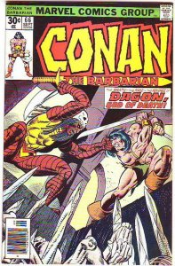 Conan the Barbarian #66 (Sep-76) VF+ High-Grade Conan the Barbarian